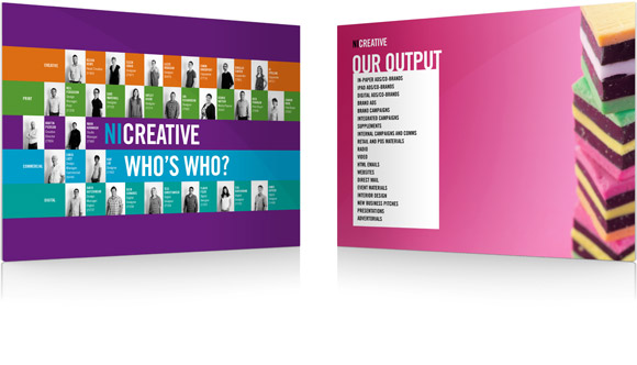Ni Creative: brochure pages