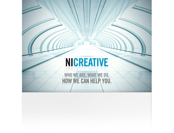 Ni Creative: brochure cover
